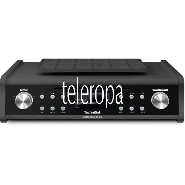TechniSat DIGITRADIO 20 CD DAB+ und UKW Radio Bild 1