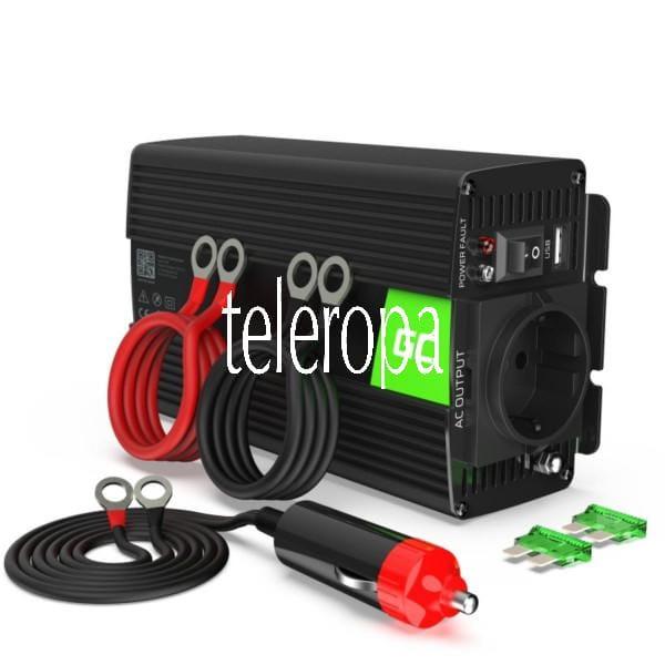 Wechselrichter Spannungswandler 24V auf 230V 500W/1000W