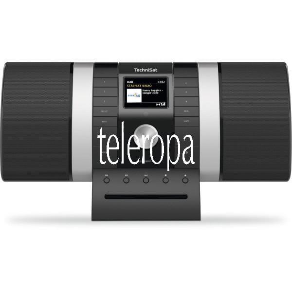 MULTYRADIO 4.0 (DAB+/UKW/Internet-Stereoradio mit CD-Player, Farbdisplay und Musikstreaming)
