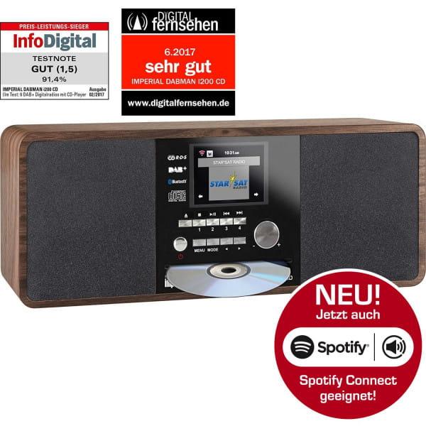 DABMAN i200 CD Internet DAB+ Stereo Radio B-Ware