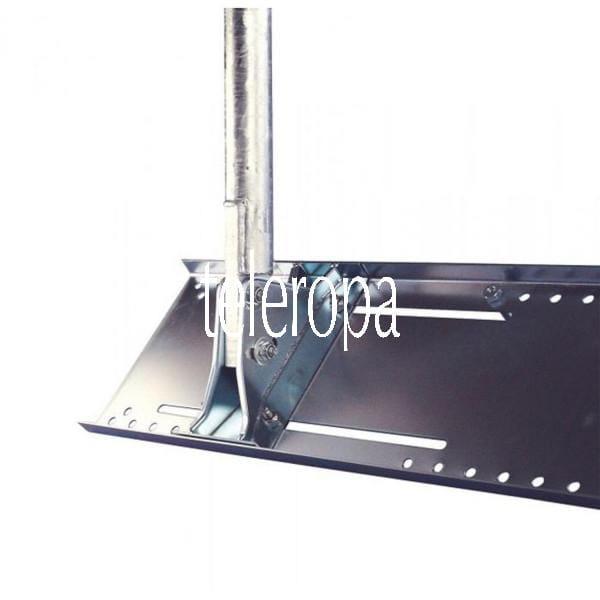 Dachsparrenhalter DSH 900-50S mit verzinktem 48 mm Stahlmast
