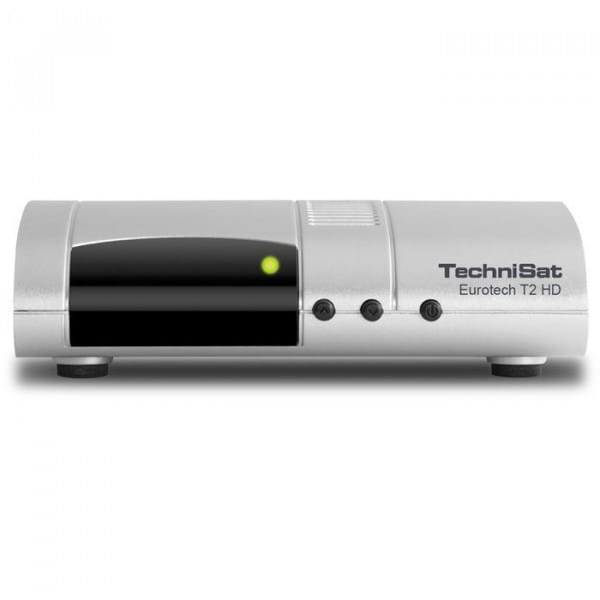 Eurotech T2 HD DVB-T2-Receiver mit Single-Tuner für Empfang in HD und Multimedia-Player