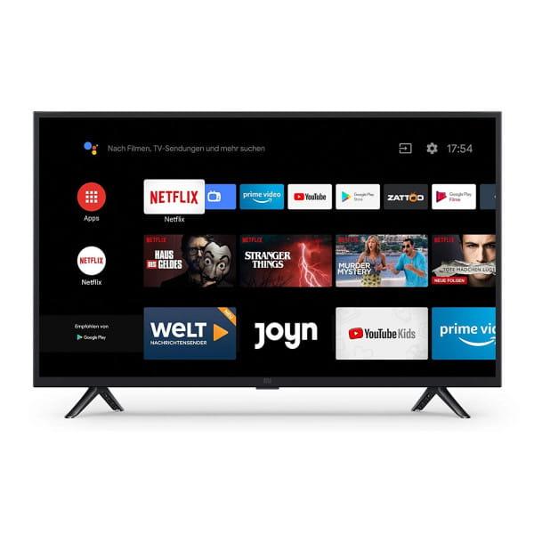 "Mi Smart TV 4A 32"" (HD LED Smart TV, Triple Tuner, Android TV 9.0, Fernbedienung mit Mikrofon, Amazo"