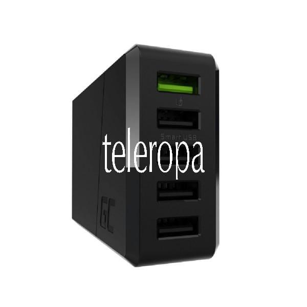 ChargeSource 5 Ladegerät Schnellladung (5x USB, Smart und Ultra Charge, modernes Design, Überspannun