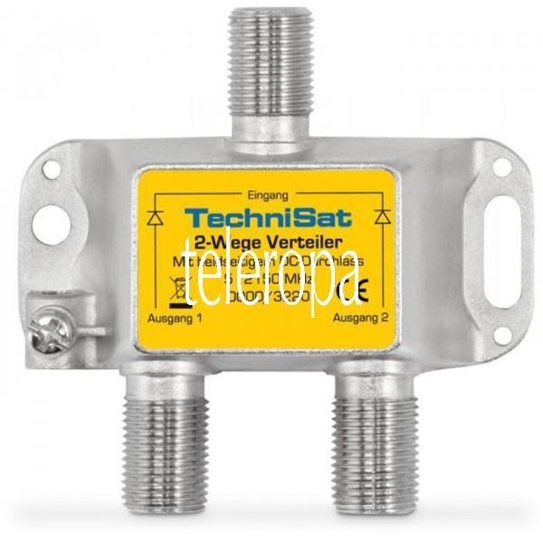 2-Wege Sat-Verteiler/Combiner 2xDC diodenentkoppelt
