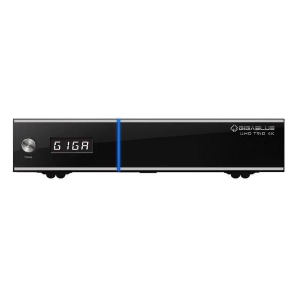GigaBlue UHD TRIO 4K LINUX HD TV Receiver 1x DVB-S2x und DVB Hybrid Tuner Bild 1