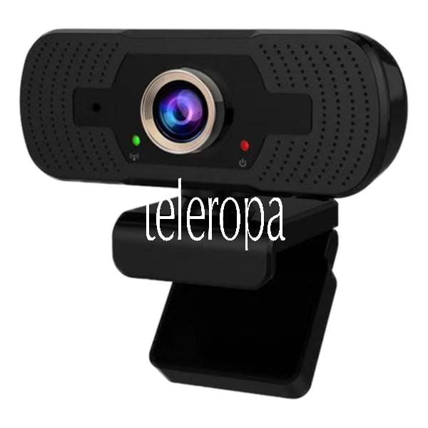 Tris 1080P Webcam Kamera mit Mikrofon Full HD Auflösung für PC Homeschooling / Home Office / Streami