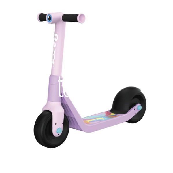 Jr. Wild Ones Scooter (für Kinder, Spritzguss-Kunststoff, Stahlverstärkt mit 3D-Augengrafik, langsam