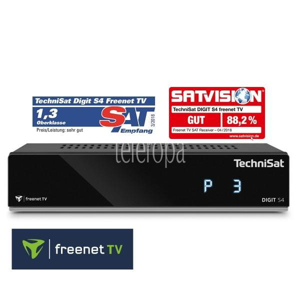 TechniSat DIGIT S4 freenet TV / HD Sat-Receiver Bild