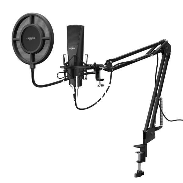 "Streaming-Mikrofon ""Stream 800 HD Studio"" Gaming (USB-Mikrofon, Audio-Aufnahmen, Flexibler Dual-Scre"