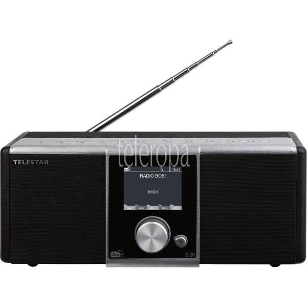 TELESTAR S 20 (Radio, Internetradio, DAB+, UKW, USB, Hybridradio) Bild 1