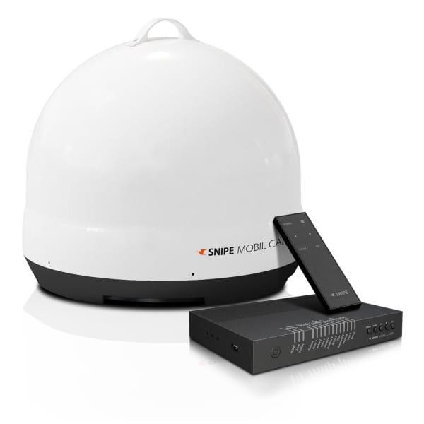 Snipe Mobil Camp vollautomatische Satelliten Antenne (DVB-S2, für Camping geeignet)