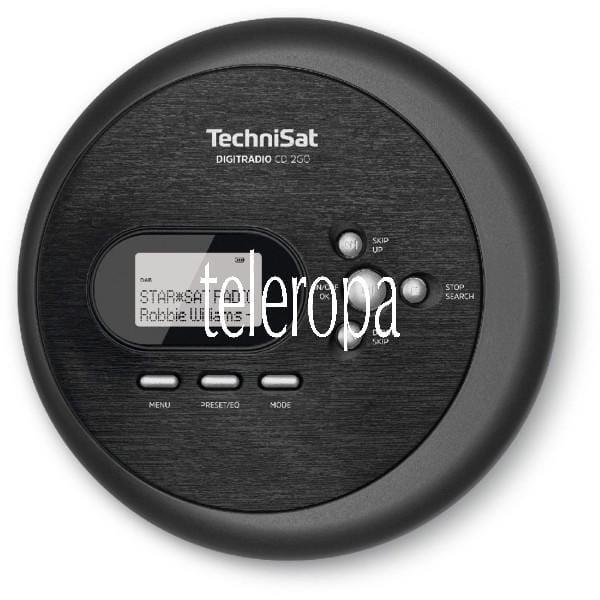DIGITRADIO CD 2GO Discman (CD-Player, DAB+, UKW, MP3 mit Resume-Funktion, Kopfhöreranschluss, Equali