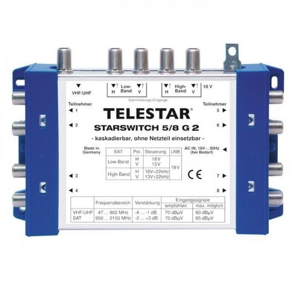 STARSWITCH 5/8 G2 DVB-S SAT Multischalter-Grundeinheit