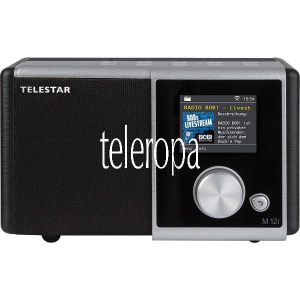 M 12i Internetradio (Radio, USB Musikplayer, MP3, WMA, AAC, WiFi)