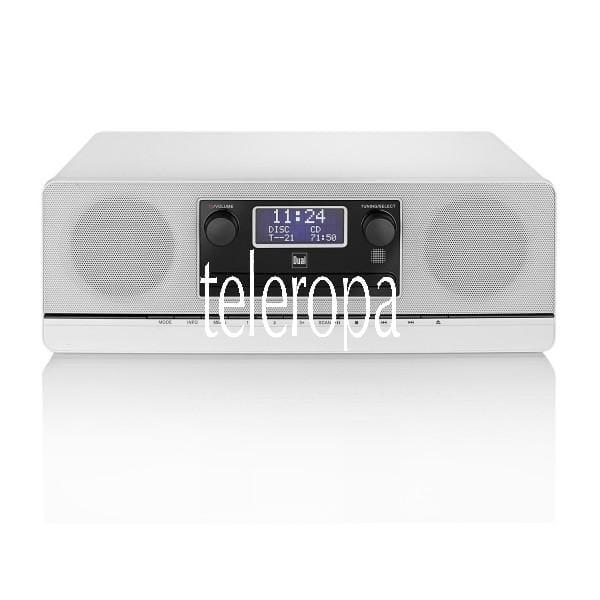 DAB 420 BT Weiß DAB(+)/UKW Micro-System mit CD/USB und Bluetooth