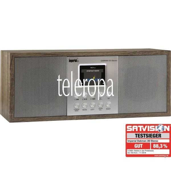 DABMAN i30 Stereo DAB+ und Internetradio B-Ware
