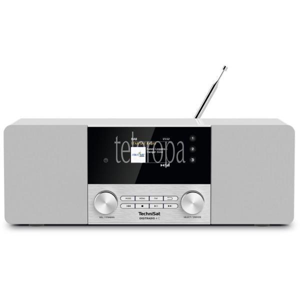 TechniSat DIGITRADIO 4 C (Radio, Digitalradio, DAB+, UKW, Bluetooth, Farbdisplay, AUX, Radiowecker) Bild 1