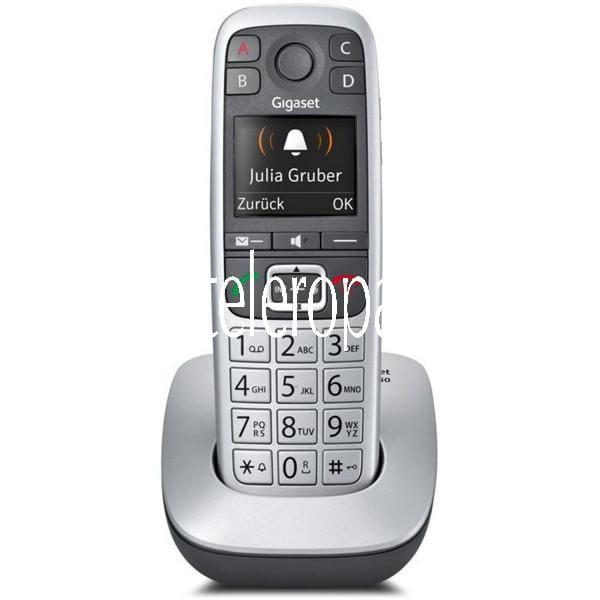 Gigaset E560 platin Schnurlostelefon Bild1