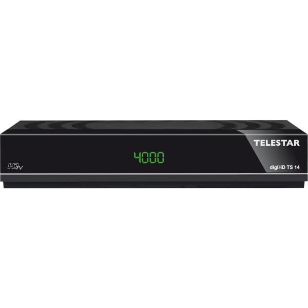 TELESTAR digiHD TS 14 HDTV-Satelliten Receiver (Alexa, Google Home, PVR Ready, HDMI, Scart, USB) Bild 1