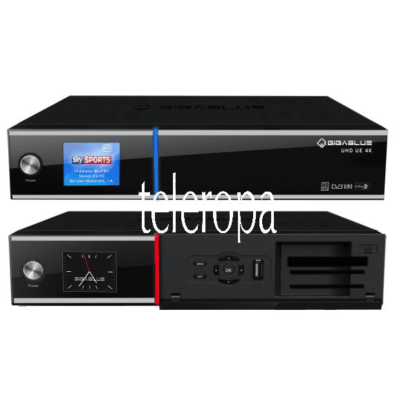UHD UE 4K TWIN LINUX TV Receiver mit Hybrid Eigenschaft B-Ware