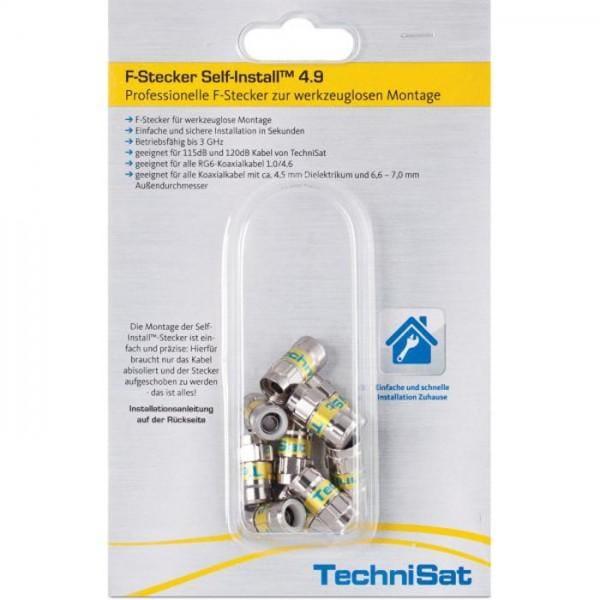 F-Stecker Self-Install™ 4.9, 10er Blister