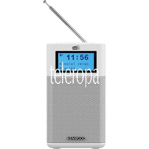 CR-M10DAB-W DAB+ Kompaktradio mit Bluetooth-Audiostreaming, Radiowecker