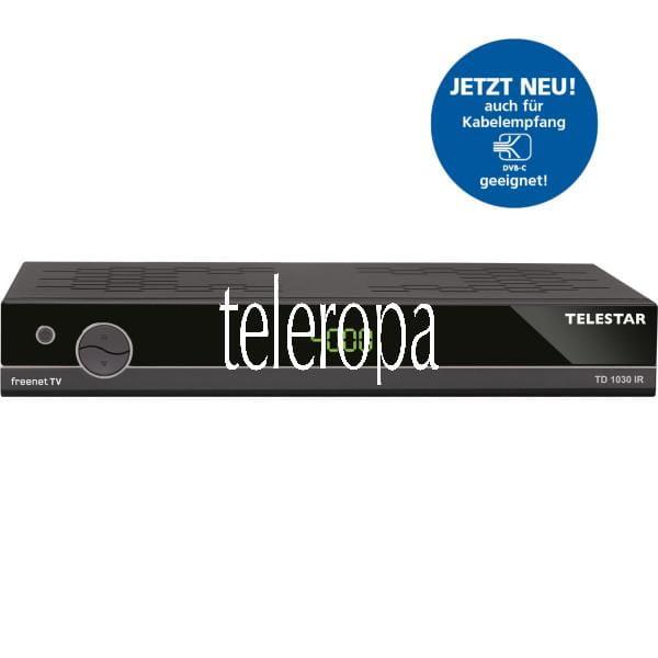 TD 1030 IR DVB-T2 inkl. freenet TV und DVB-C2 Kabel Receiver
