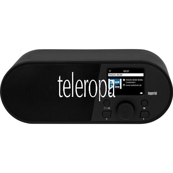 i105 Internetradio (WLAN, Mediaplayer, USB, DLNA, Farbdisplay, Wecker, Appsteuerung)