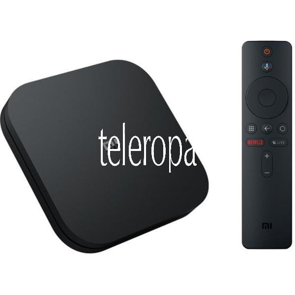 Mi Box S 4K Ultra HD Media Player mit Google Assistent Fernbedienung, Bluetooth, HDMI 4K HDR