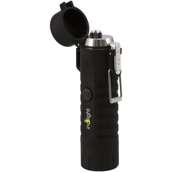Inolight CL8 USB Doppellichtbogenanzünder, Taschenlampe Bild 1