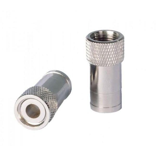 F-Stecker selbstfixierend für 6,8 mm Koaxkabel