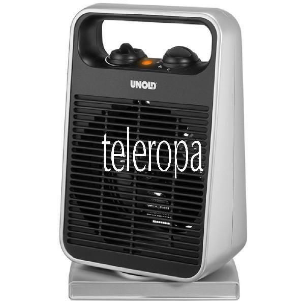 HEIZLÜFTER Rotate Fan + Heat (Mit 1.000 bis 2.000 Watt Heizleistung, 4-Stufen-Schalter, 75° oszillie